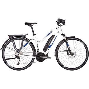 HAIBIKE SDURO Trekking 4.0 Damen weiß/blau/schwarz bei fahrrad.de Online