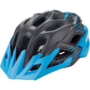 KED Status Jr. Helmet Kinder black blue matt black blue matt