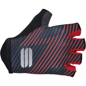 Sportful Bodyfit Team Faster Gloves black/dark grey/red black/dark grey/red