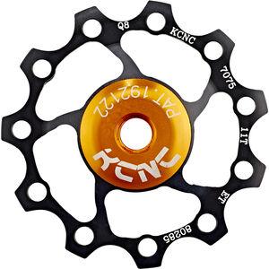 KCNC Jockey Wheel 11 Zähne SS Bearing schwarz