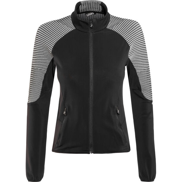 UYN Climable Jacket Damen black/medium grey/off white