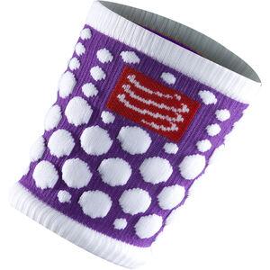 Compressport 3D Dots Sweatband Fluo Purple bei fahrrad.de Online