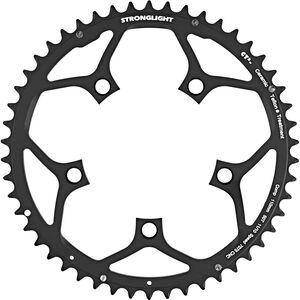 STRONGLIGHT Type 110 S Chainring 5 hole outside 10/11x schwarz schwarz