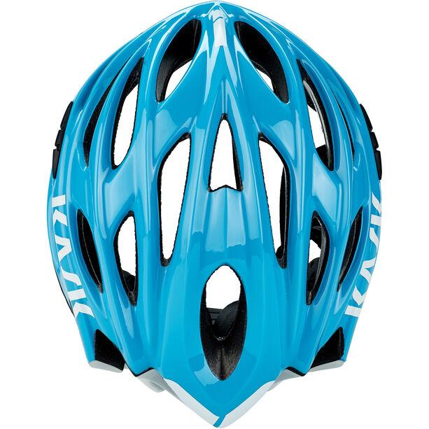Kask Mojito X Helm hellblau/weiß