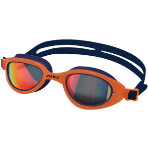 Zone3 Attack Brille polarized lens-navy/hi-vis orange polarized lens-navy/hi-vis orange