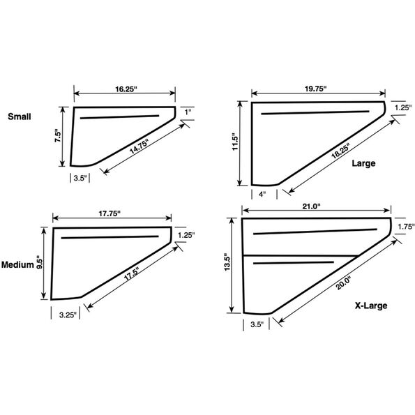Revelate Designs Ranger Rahmentasche M