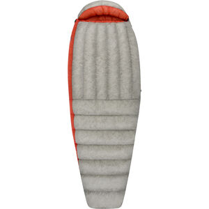 Sea to Summit Flame FmIII Sleeping Bag Long Damen light grey/paprika light grey/paprika