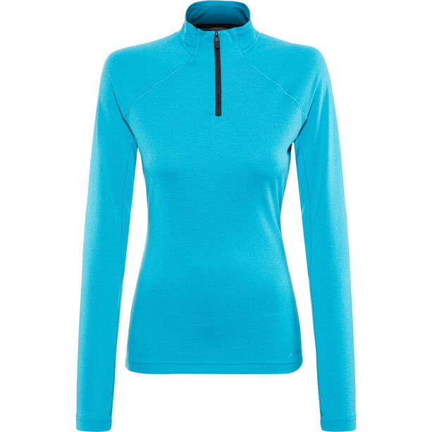 special section incredible prices buy popular adidas TERREX Trace Rocker 1/2 Zip LS Shirt Damen shock cyan