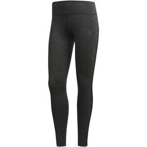 adidas Response Heather Running Tights Damen black/carbon black/carbon