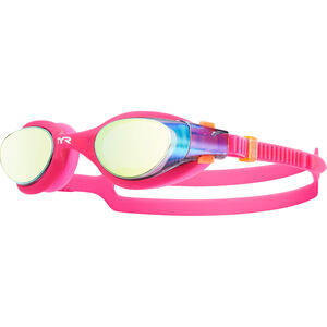 TYR Vesi Goggles Mirrored Damen gold/pink gold/pink