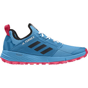 6fd949a4deac41 adidas TERREX Agravic Speed+ Shoes Women shock cyan core black active pink