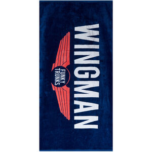 Funky Trunks Towel navy wingman navy wingman