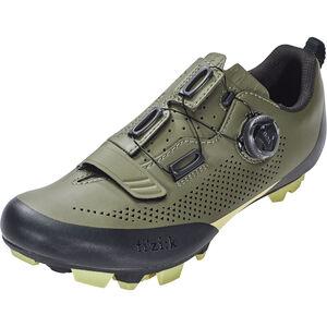 Fizik Terra X5 MTB Schuhe Herren military grün/tangy grün military grün/tangy grün