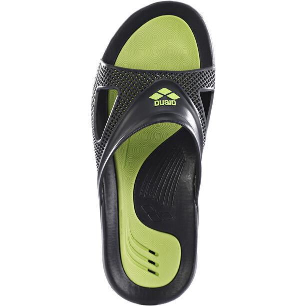 arena Hydrofit Hook Sandals Herren black/black/green