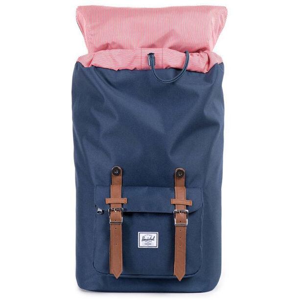 Herschel Little America Backpack navy/tan