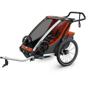 Thule Chariot Cross 1 Bike Trailer roarange/dark shadow roarange/dark shadow