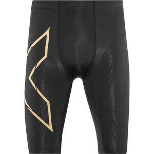 2XU MCS Run Compression Shorts Herren black/gold reflective black/gold reflective