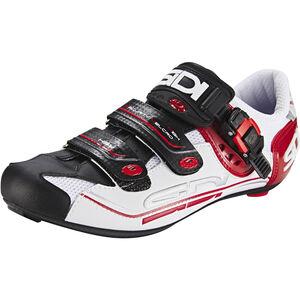 Sidi Genius 7 Shoes Herren white/black/red white/black/red