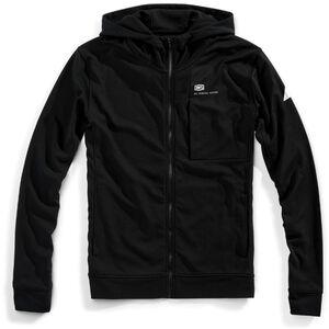 100% Regent Tech Fleece FZ Hooded Herren black black