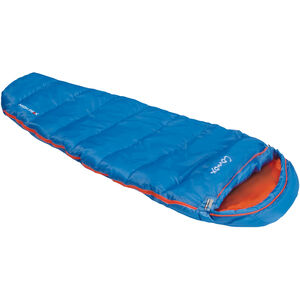 High Peak Comox Sleeping Bag Kids light blue/orange