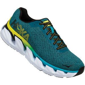 Hoka One One Elevon Running Shoes caribbean sea/black