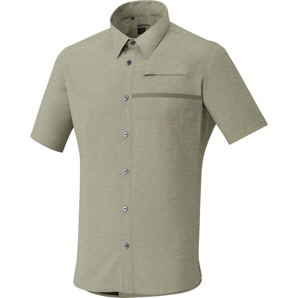 Shimano Transit Shortsleeve Check Button Up Shirt