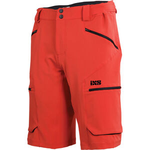 IXS Tema 6.1 Trail Shorts Herren fluor red fluor red