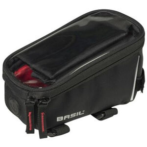 Basil Sport Design Frame Bag 1l schwarz schwarz