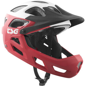 TSG Seek FR Graphic Design Helmet block red-white block red-white