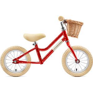 """Creme Mia Push-Bike 12"""" Kinder red polka"""