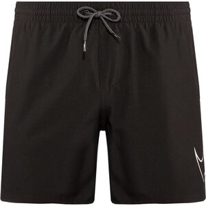 "Nike Swim Perforated Swoosh 5"" Volley Shorts Herren black black"