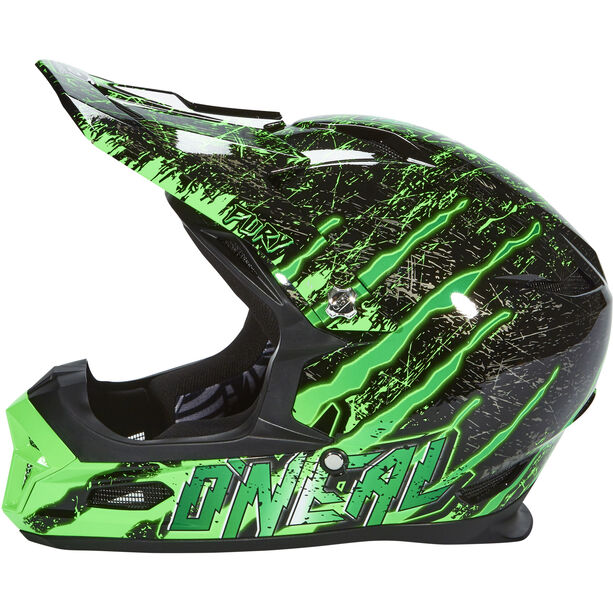 O'Neal Fury RL Helmet crawler-black/green