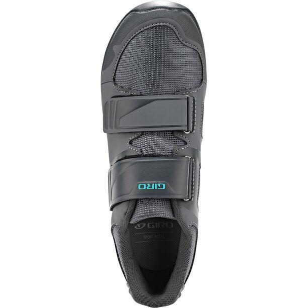 Giro Berm Schuhe Damen titanium/dark shadow