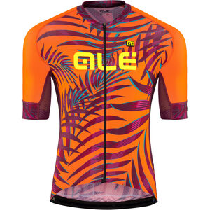 Alé Cycling Graphics PRR Sunset SS Jersey Herren flou orange-plum flou orange-plum