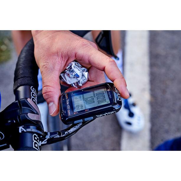 Bryton Rider 450 H HRM Fahrradcomputer schwarz