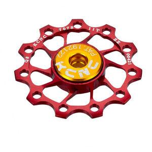 KCNC Jockey Wheel Ultra 12 Zähne SS Bearing rot rot