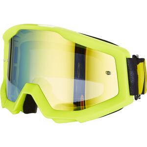100% Strata Goggles neon yellow-mirror neon yellow-mirror