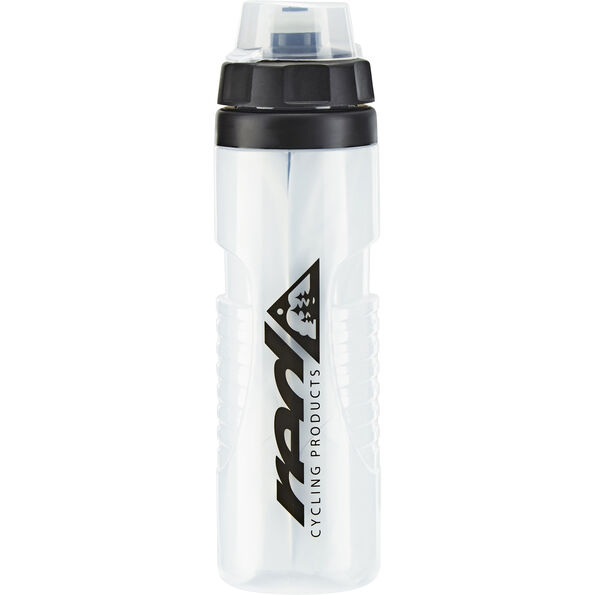 Red Cycling Products Bike Thermobottle 650ml transparent/schwarz
