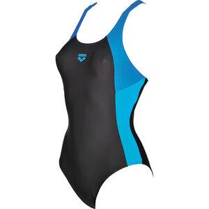 arena Ren One Piece Swimsuit Women black-pix blue-turquoise bei fahrrad.de Online