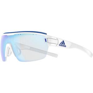 adidas Zonyk Aero Pro Glasses L white shiny/vario blue white shiny/vario blue