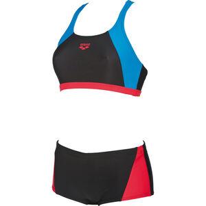 arena Rem Two-Pieces Swimsuit Women black-red-pix blue bei fahrrad.de Online