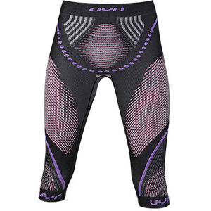 UYN Evolutyon UW Medium Pants Damen anthracite melange/raspberry/purple anthracite melange/raspberry/purple