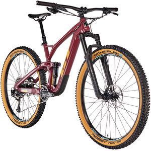 GT Bicycles Sensor Carbon Expert wine red/gumwall/glacier mint bei fahrrad.de Online