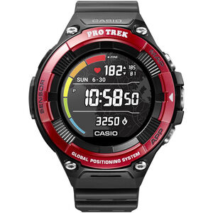 CASIO PRO TREK SMART WSD-F21HR-RDBGE Smartwatch Men Red Red