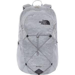 The North Face Rodey Backpack Mid Grey Dark Heather/TNF Black bei fahrrad.de Online