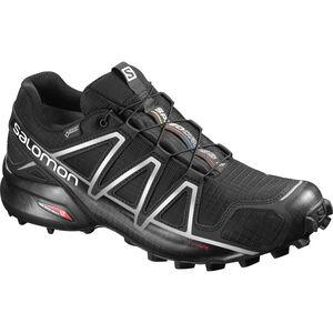 Salomon Speedcross 4 GTX Shoes Herren black/black/silver metallic-x black/black/silver metallic-x