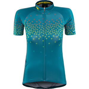 Endura PT Scatter LTD Trikot kurzarm Damen kingfisher kingfisher