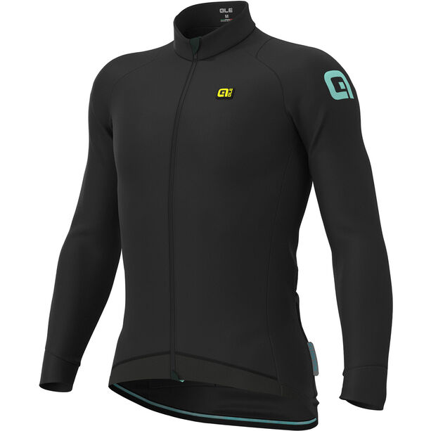 Alé Cycling Klimatik Klima Winter Trikot Herren black