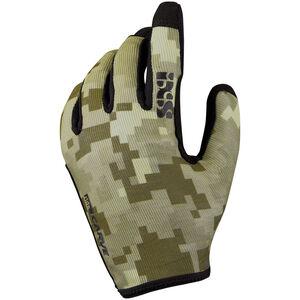 IXS Carve Gloves camel camo camel camo
