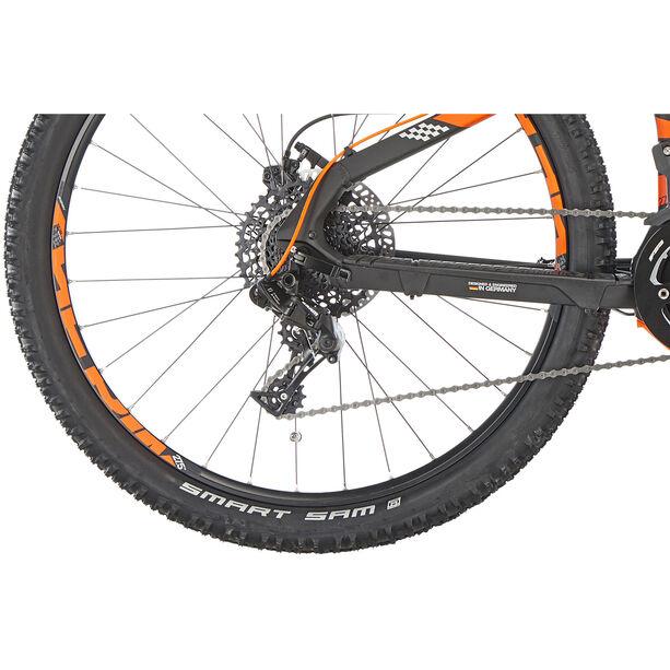 HAIBIKE SDURO HardSeven 2.0 schwarz/orange/silber matt